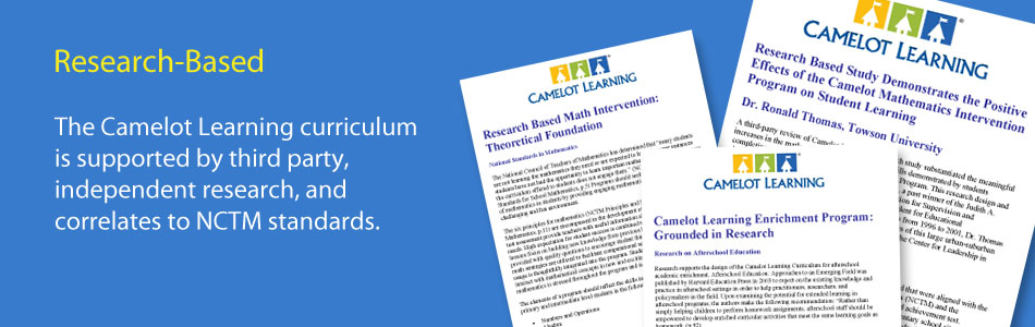 Camelot Learning offers a research-based math intervention